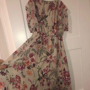 A.U.W floral dress
